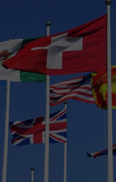 Flagi narodowe i kościelne
